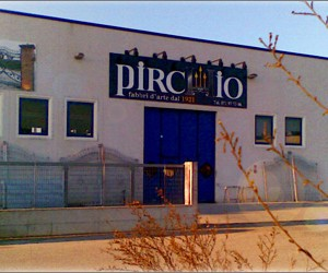 PIRCHIO srl - LORETO - VIA BIAGI E D'ANTONA - Il nostro nuovo stabilimento di 800 mq.